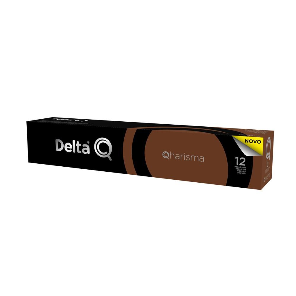 Cápsula de Café Delta Q Qharisma Intensidade 12 - 10 Cápsulas