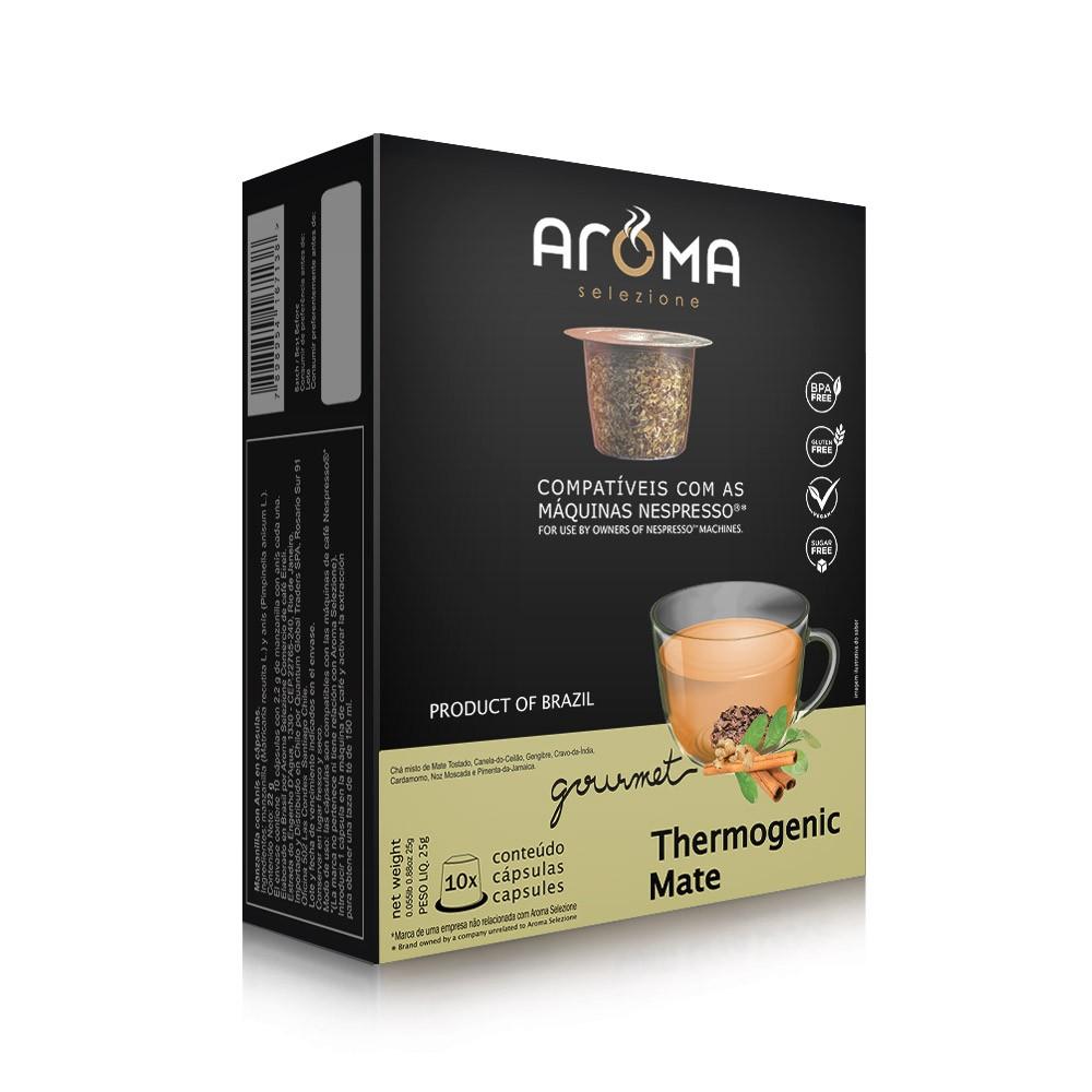 Cápsulas de Chá Thermogenic Mate Aroma - Compatíveis com Nespresso® - 10 un.
