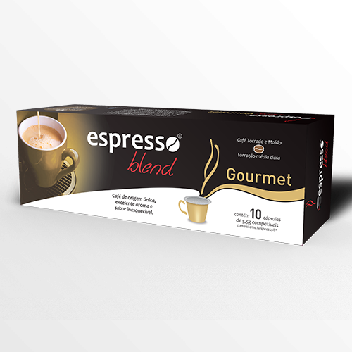Cápsulas de Café Espresso Blend Gourmet - Compatíveis com Nespresso® - 10 un.