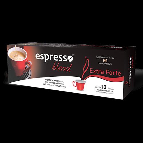 Cápsulas de Café Espresso Blend Extraforte - Compatíveis com Nespresso® - 10 un.