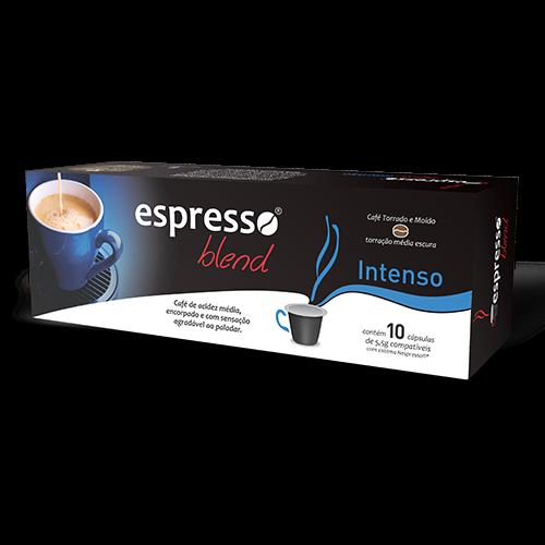 Cápsulas de Café Espresso Blend Intenso - Compatíveis com Nespresso® - 10 un.