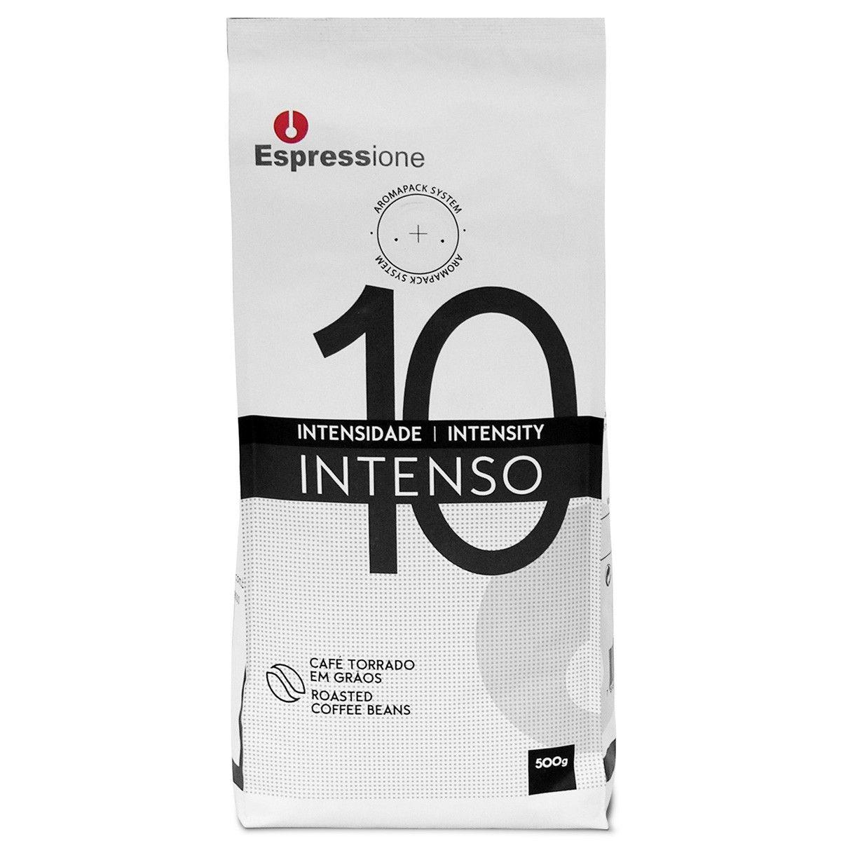 Cafe em Grãos Espressione Intenso 500g Gourmet