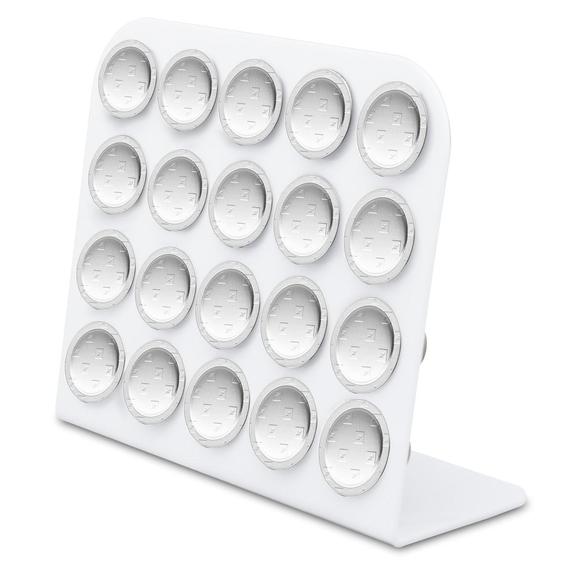 Porta Cápsula Acrílico - Compatível com Cápsulas Nespresso® - Branco - 20 un.