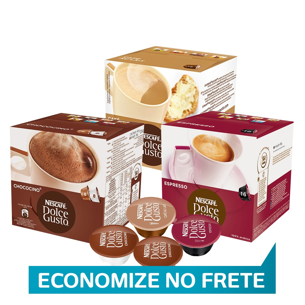 Kit Capsula Dolce Gusto Cafeteria