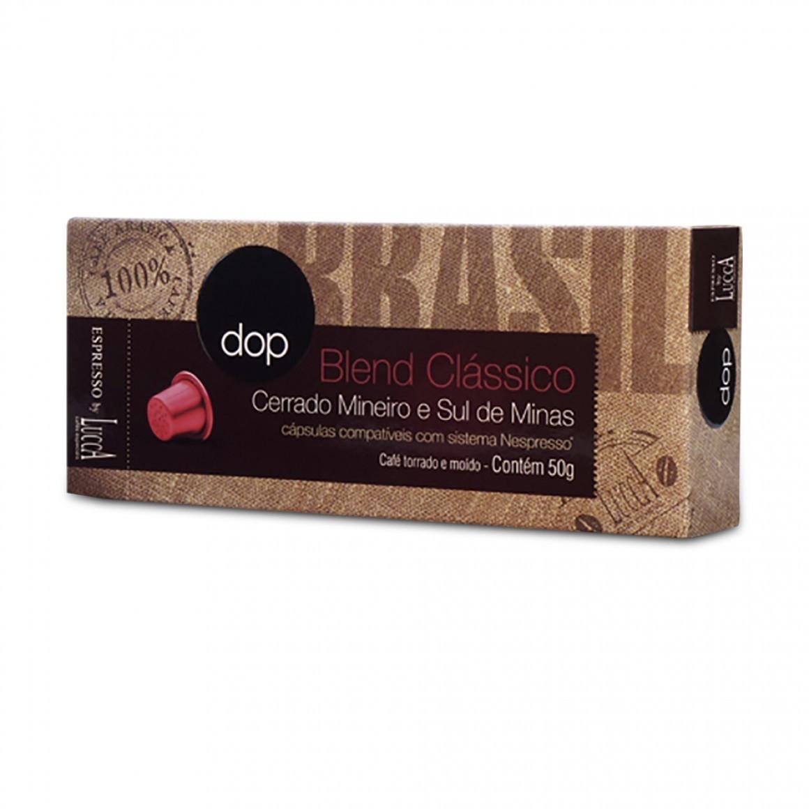 Cápsulas de Café Dop Blend Classico - Compatíveis com Nespresso® - 10 un.