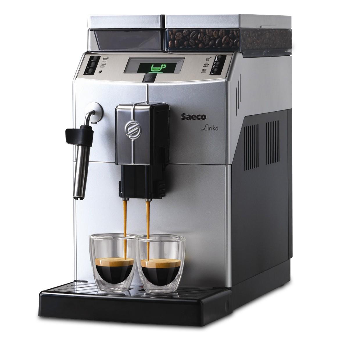 Máquina de Café Saeco Lirika Plus Silver/Black 110v