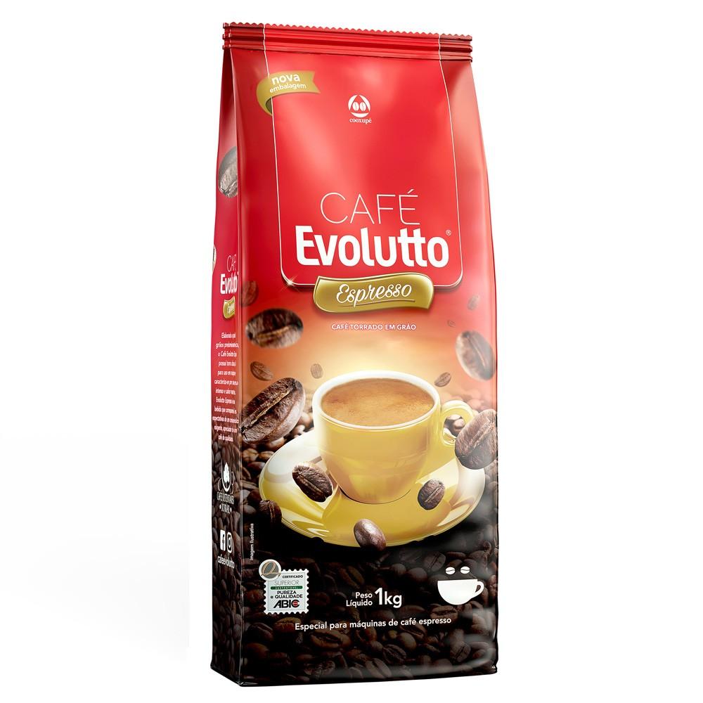 Café Expresso em Grãos Evolutto 1kg