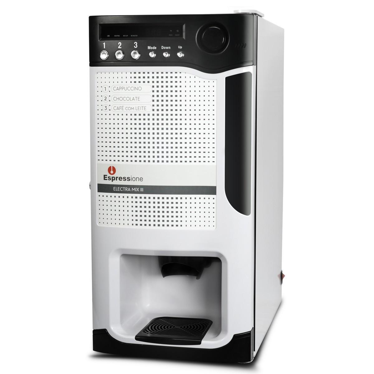 Máquina Electra Mix III 220v Versão Solúvel Espressione Branca - Reembalada