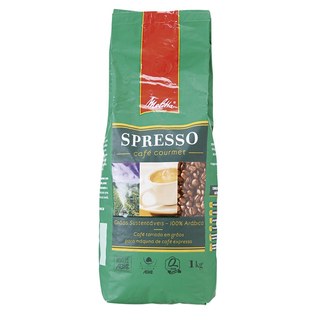 Café Expresso em Grãos Melitta 1KG