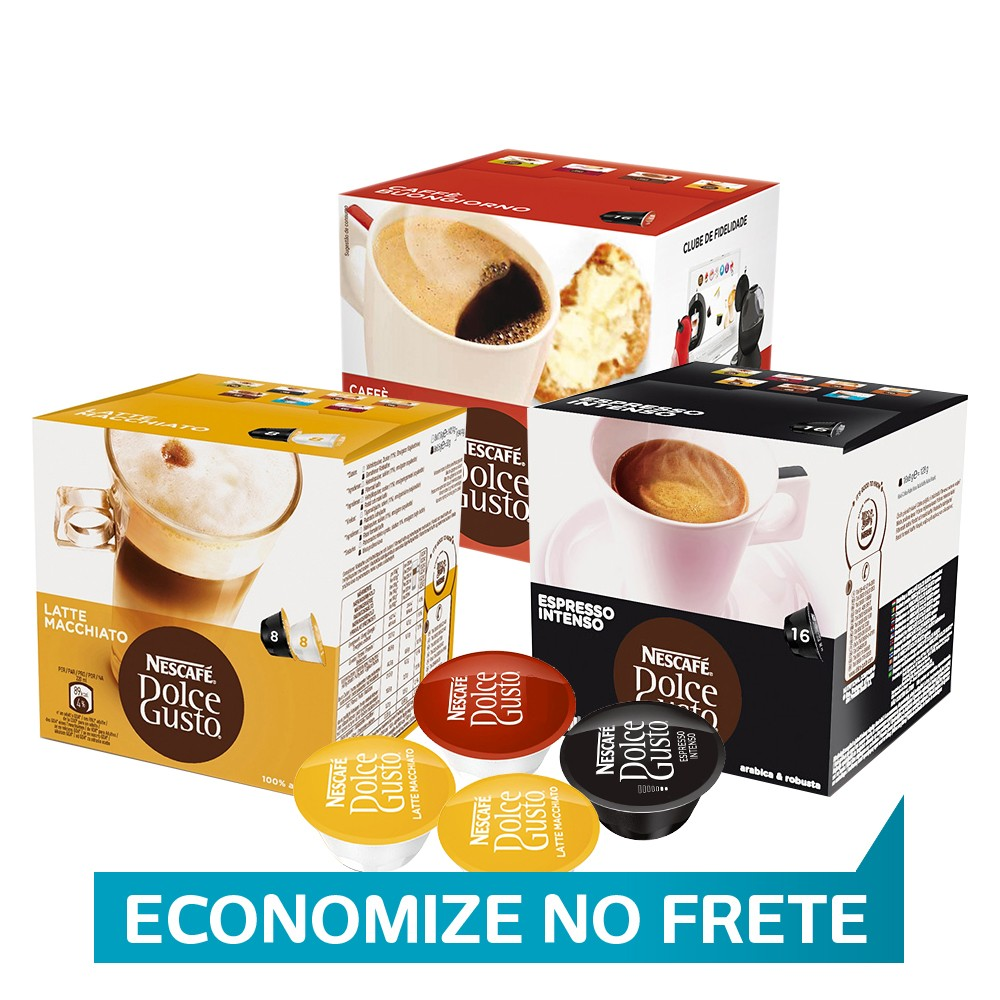 Kit Capsula Dolce Gusto Bar
