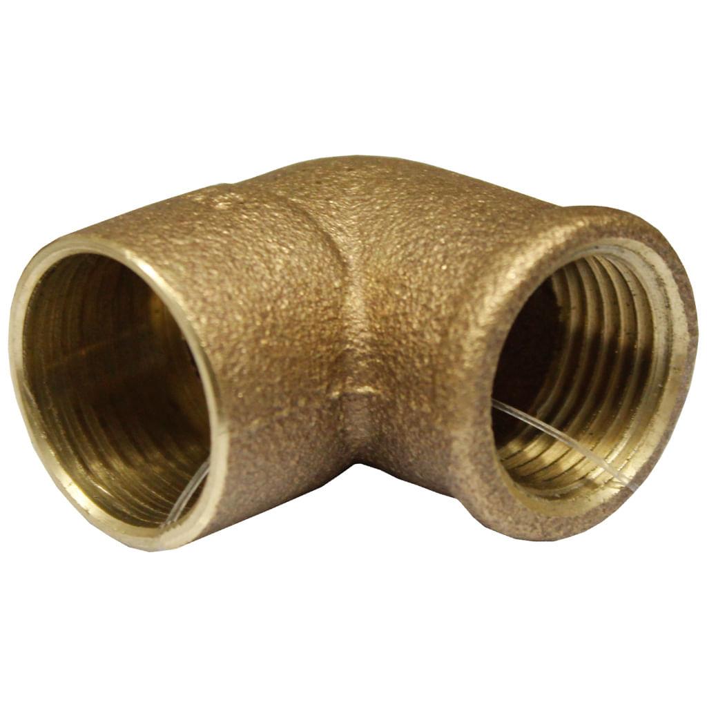 "Cotovelo Bronze 22X1/2"" F707-3 Eluma"