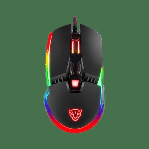 Mouse Motospeed V20 Rgb Gamer Com Macro
