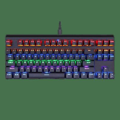 Teclado Mecanico Gamer Motospeed Ck101 K83 Sem Fio Outemu Azul