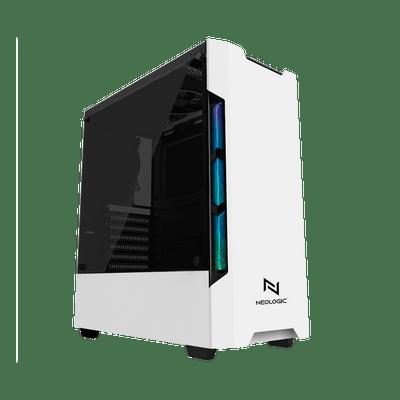 Gabinete Gamer RGB Neologic Branco - NL-C301W Unica