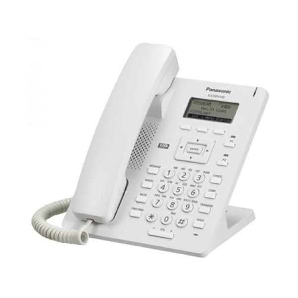 VoIP-телефон Panasonic KX-HDV100RU белый