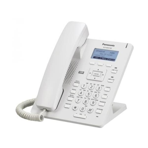 VoIP-телефон Panasonic KX-HDV130RU белый