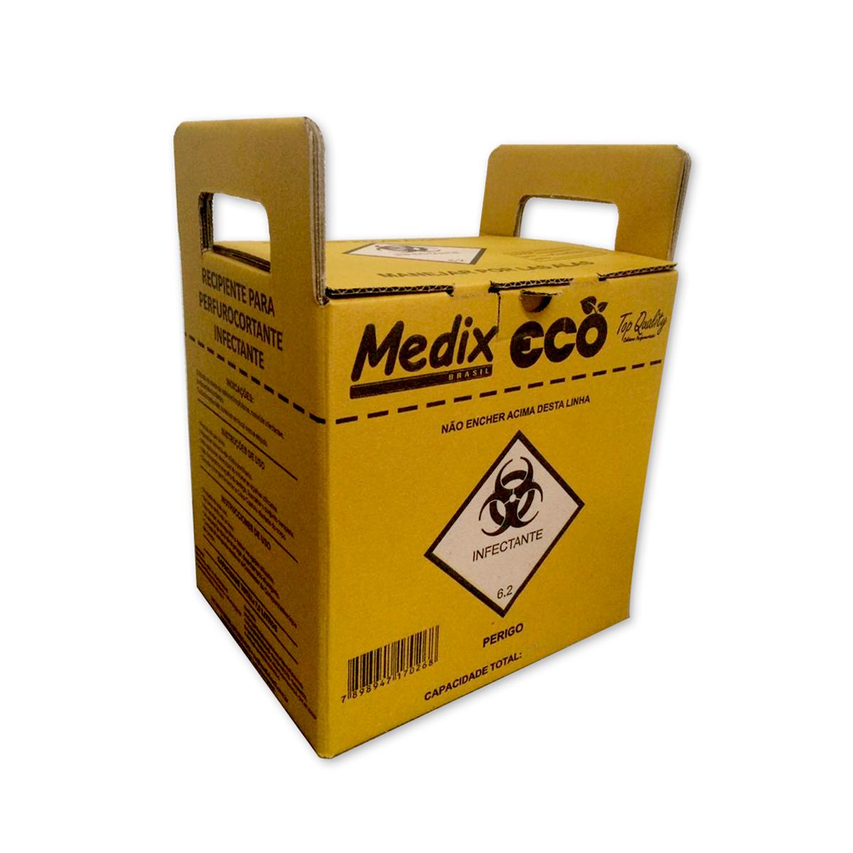 Coletor Para Material Perfurocortante - Medix
