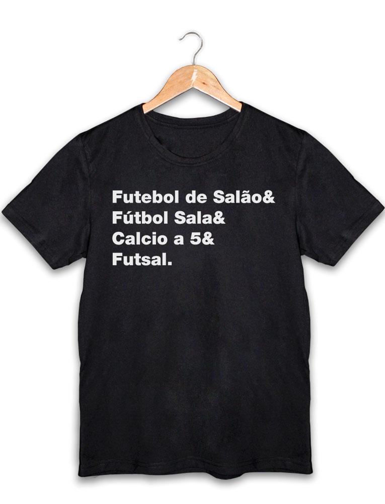 Camiseta Futebol de Salão • PRCBRF