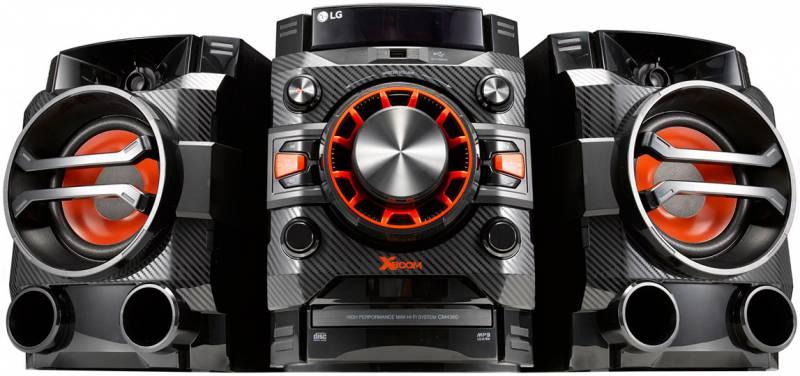 Минисистема LG CM4360 черный