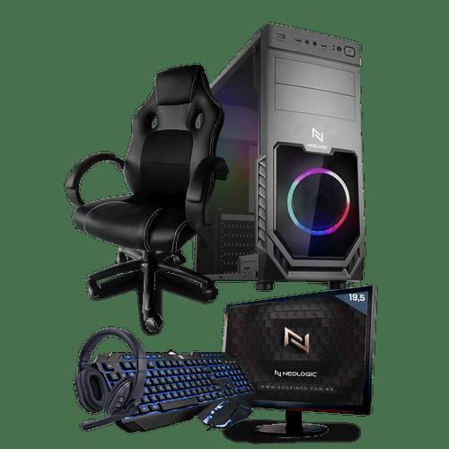 PC Gamer Completo Neologic Start NLI81452 Ryzen 3 2200G 8GB ( Radeon Vega 8 Integrado) 1TB + Cadeira Gamer