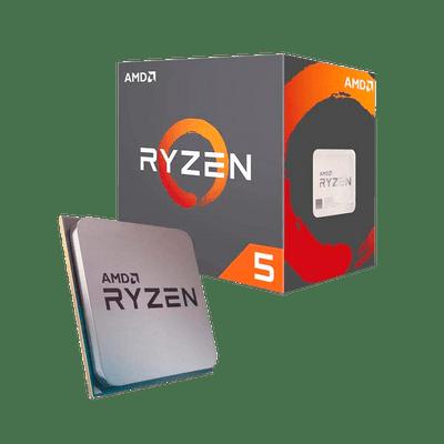 Processador AM4 Ryzen 5 2600 6 Core 12 Thread 3.9GHZ Max Boost 3.4GHZ Base AMD YD2600BBAFBOX
