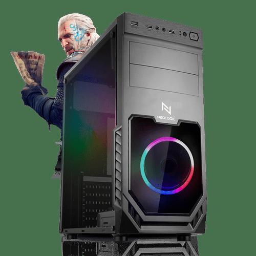 Pc Gamer Neologic NLI81393 Intel i3-9100F 8GB (GTX 1650) 1TB