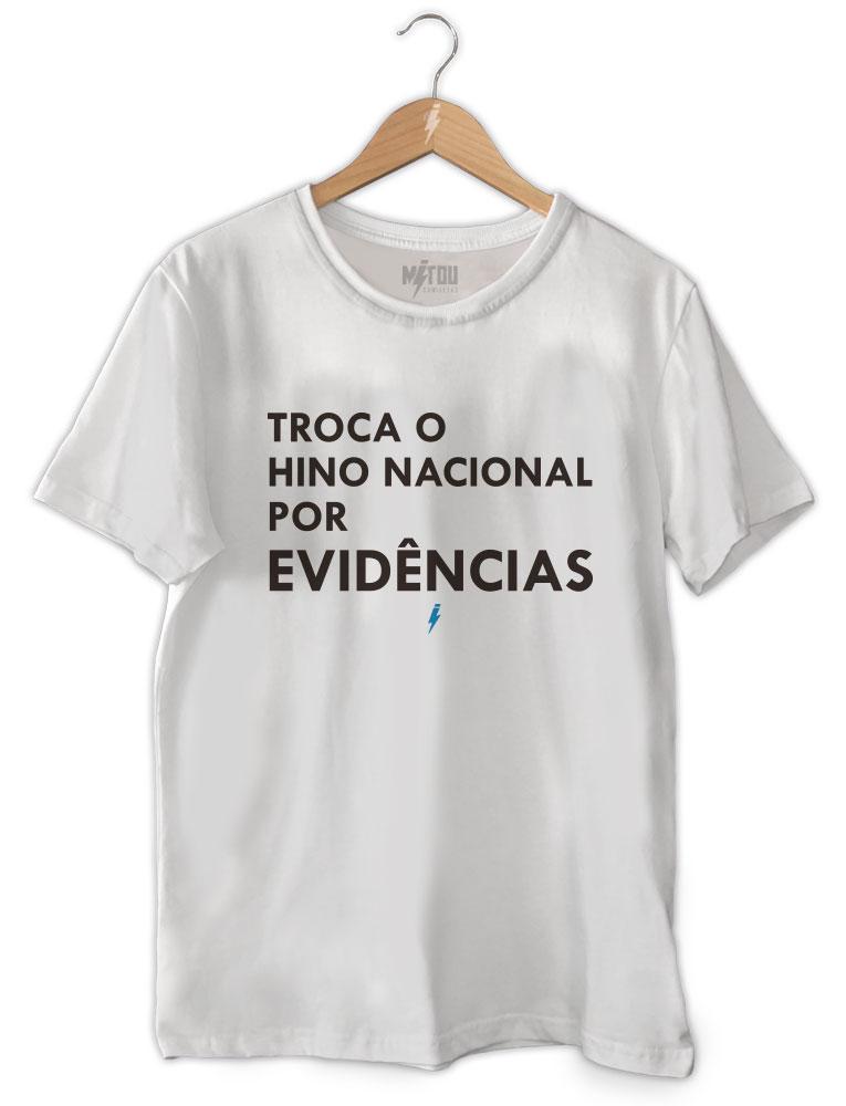 Camiseta Evidências