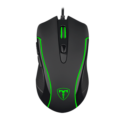 Mouse Gamer USB T-Dagger Private RGB 6 Botões 3200DPI T-TGM106