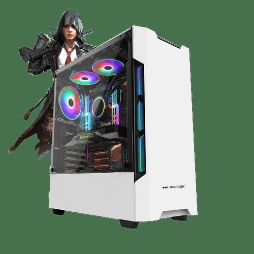 PC Gamer Neologic E-Sports Box NLI81649 Intel i3-9100F 8GB (GTX 1660 6GB) 1TB
