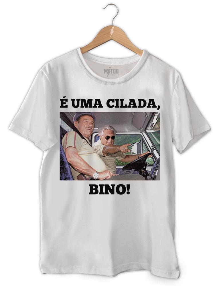 Camiseta É uma Cilada Bino