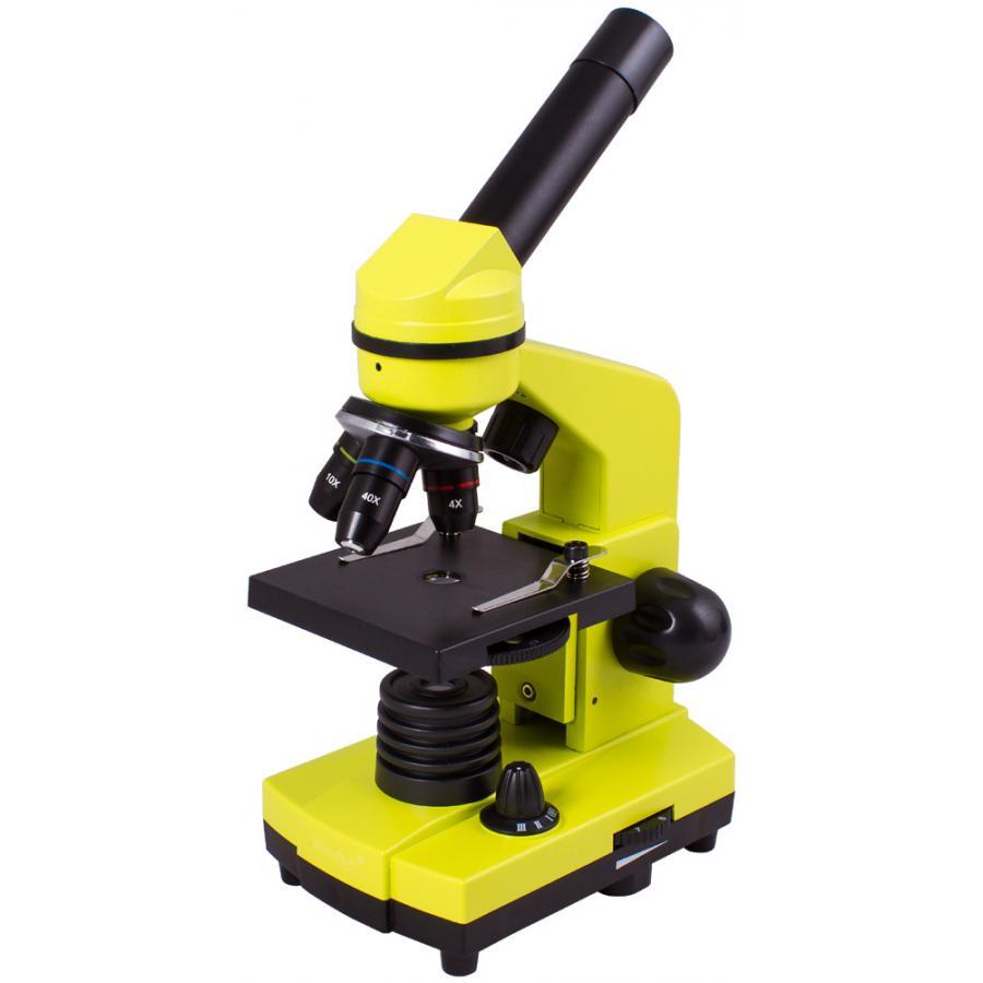 Микроскоп Levenhuk Rainbow 2L Lime Лайм