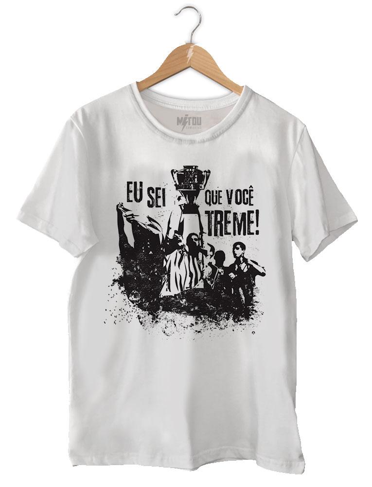 Camiseta Eu Sei Que Você Treme • PRCAQG