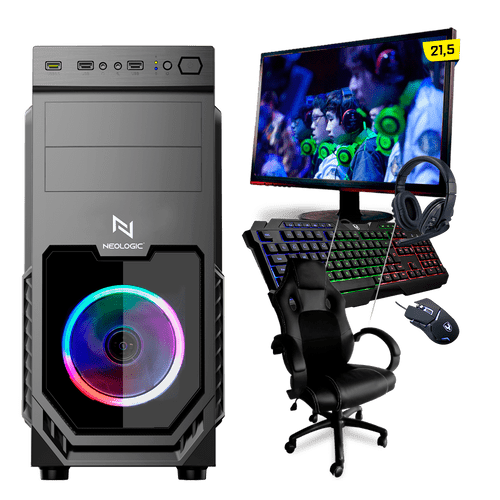 PC Gamer Completo Neologic Start NLI81635 Ryzen 3 3200G 8GB (Radeon Vega 8 Integrado) SSD 240GB