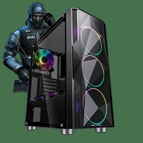 Pc Gamer E-Sports Neologic NLI81702 Intel i3-9100F 8GB (GTX 1650 4GB) 1TB