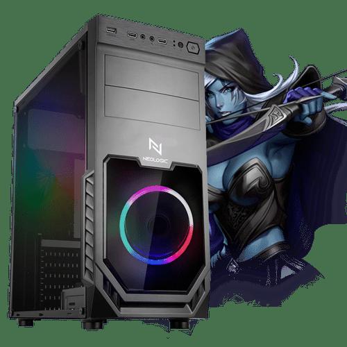 Pc Gamer Neologic Start NLI81722 Ryzen 3 2200G 8GB (Radeon Vega 8 Integrado) SSD 480GB